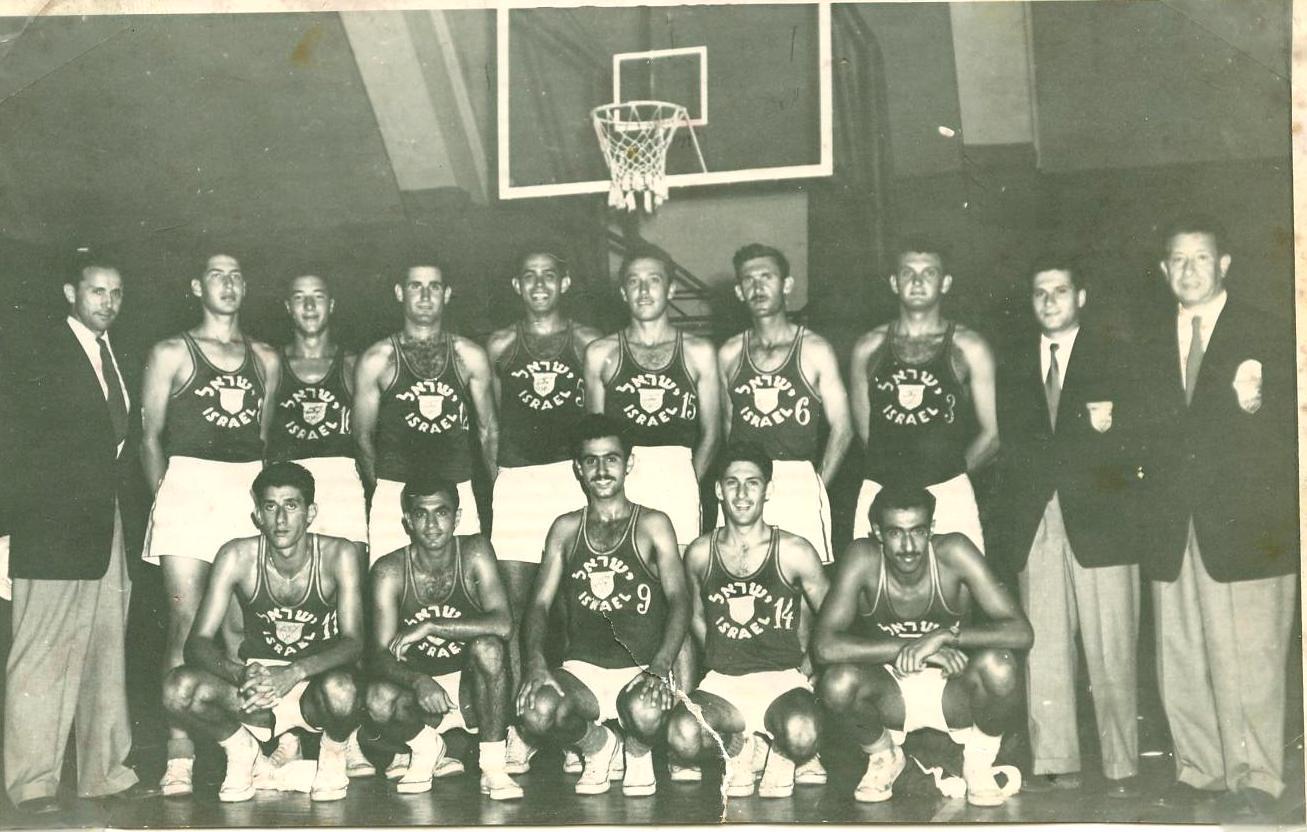 baketball israel team 1952