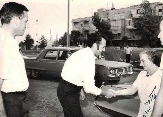 golda meir pm almog gill 1970