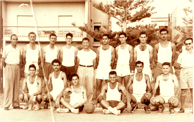 israel national baketball team 1952