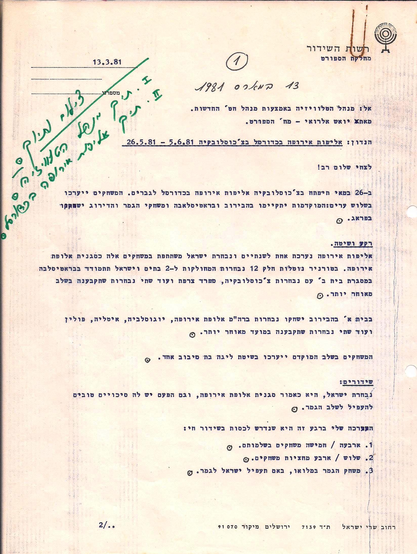 czech 4 1981