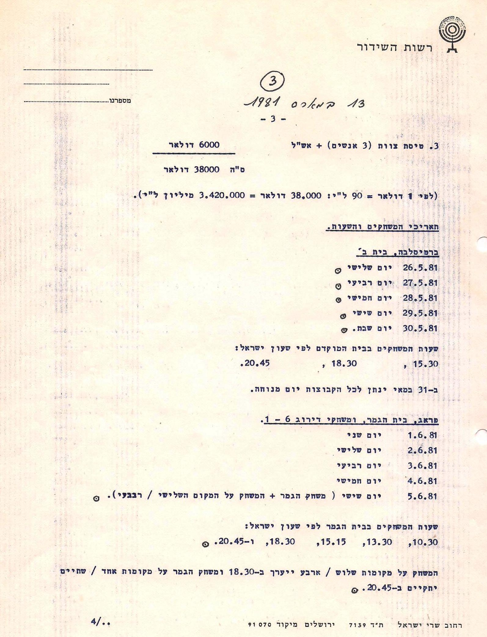 czech 6 1981