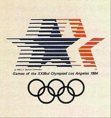 olympics la 1984 logo